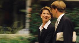 Business Man & Woman