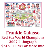 Frankie Galasso Red Sox 2007