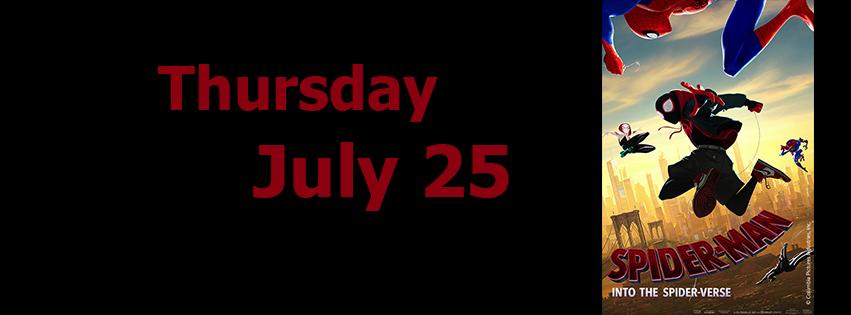 last movie July 25