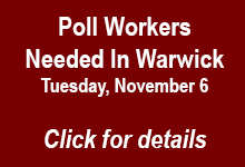 Poll Workers Needed in Warwick RI