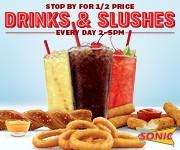 Tasty Sonic Drinks & Slushes