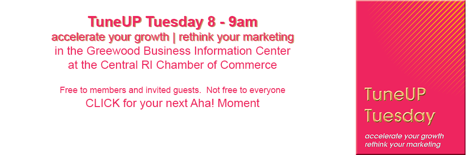 TuneUP Tuesday - accelerate your growth, rethink your marketing