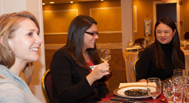 Young Professionals Connect at Radisson Hotel / Libations Restaurant in Warwick.